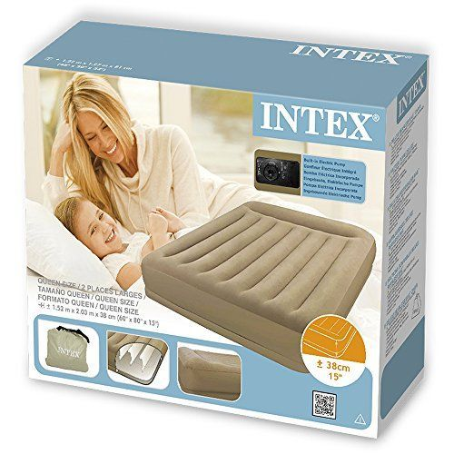 cama intex hinchable camping